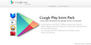 Google Play Icons Pack