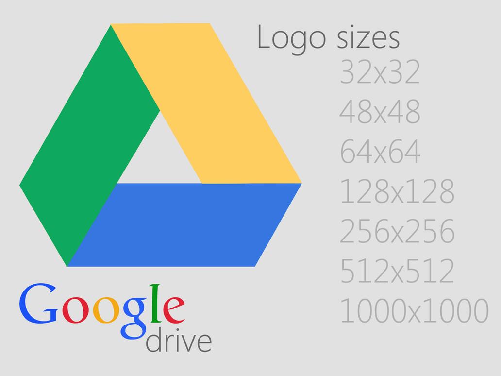 Google Drive Logo by Brebenel-Silviu