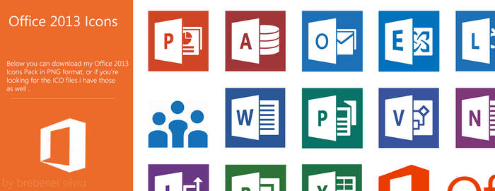Office 2013 - Icons Pack