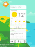 Google Now Suite for XWidget