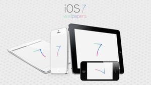 iOS 7 Logo Wallpapers by Brebenel-Silviu