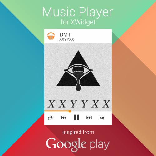 Google Play Music for XWidget by Brebenel-Silviu