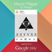 Google Play Music for XWidget