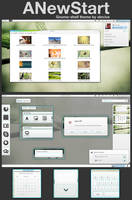 GNOME shell - ANewStart by alecive
