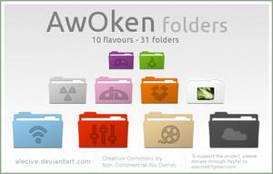 AwOken folders by alecive
