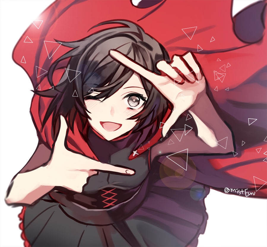 RWBY: Ruby X Grimm!Lord!M!Reader: Grimm Rose by HazyPhantom