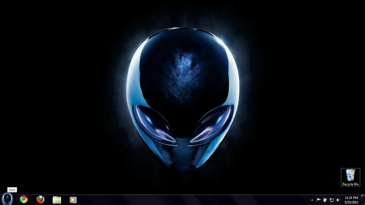 Alienware Theme Pack for Win 7 by MorfyDiez
