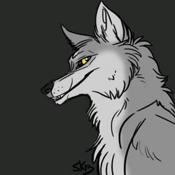 P2U Wolf Bust Base! by TallestSky