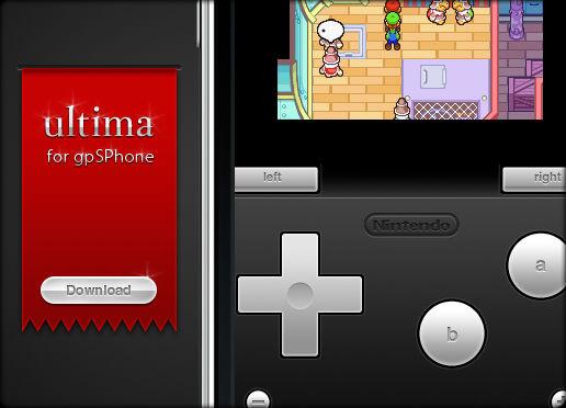 Ultima for gpSPhone