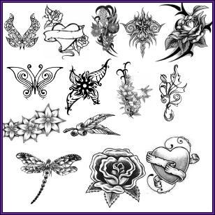 Brushes-Tattoos-Garden1 by wingsdesired-psp