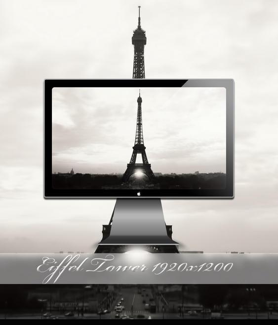 Eiffel Tower by SABBAT2010