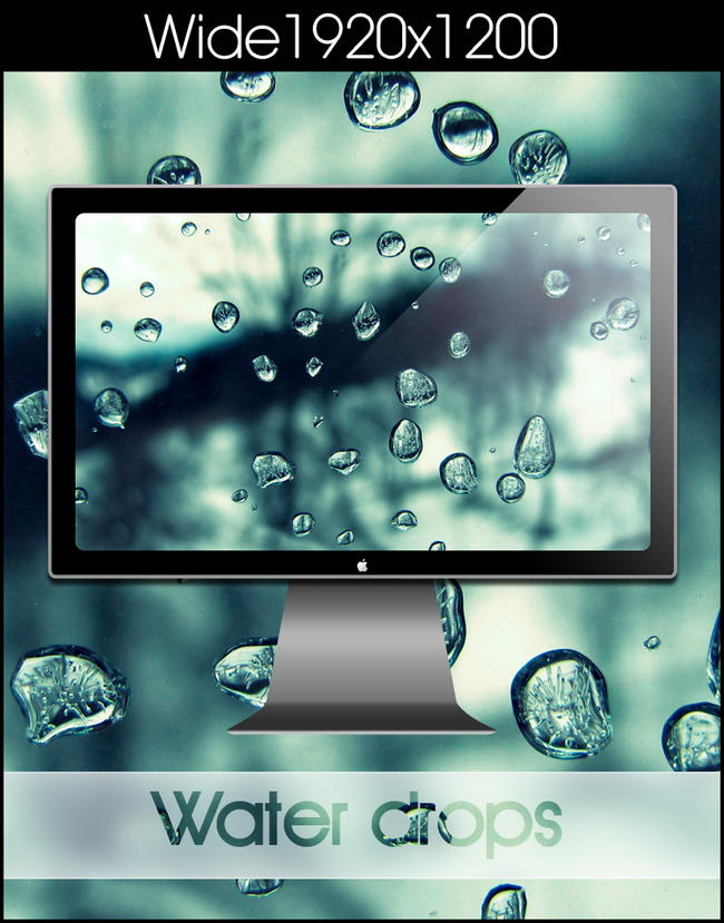 Water drops by SABBAT2010