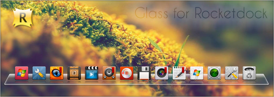 Glass for Rocketdock by SABBAT2010