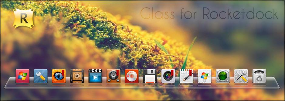 Glass for Rocketdock by SABBAT2010