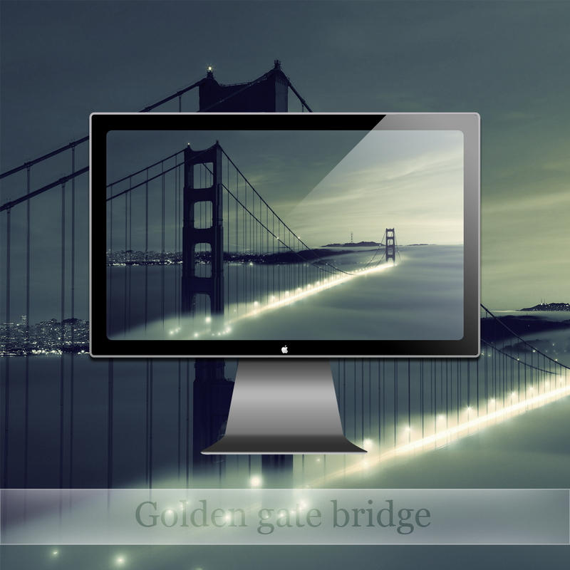 Golden gate bridge by SABBAT2010