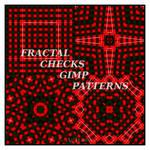 FRACTAL CHECKS GIMP PATTERNS