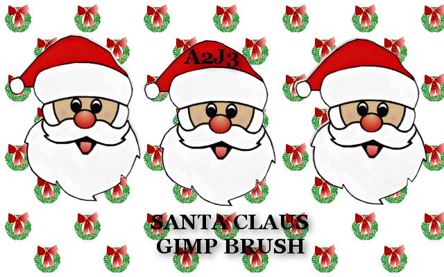 A2j3 Santa Claus Brush by a2j3