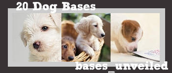20 Dog Icon Bases by cabaretaffair