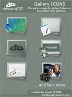 Gallery Pack deviantART by sm0kiii