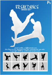 Breakdance BRUSH SET by sm0kiii