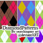 DiamondPatterns by SearchingMyArt