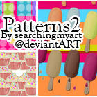 Patterns Set 2 by SearchingMyArt