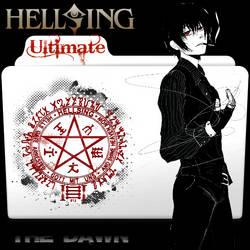 Hellsing Ultimate The Dawn Folder Icon by bodskih