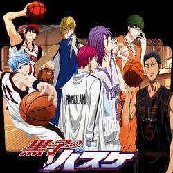 Kuroko no Basket Folder Icon by bodskih
