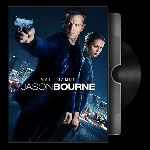 Jason Bourne 2016 Folder Icon By Bodskih On Deviantart