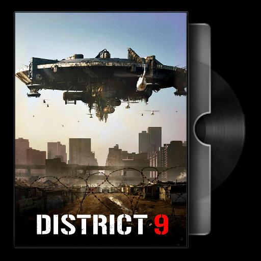 District 9 2009 Folder Icon By Bodskih On Deviantart
