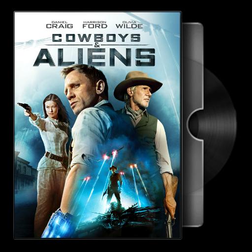 Cowboys Aliens 2011 Folder Icon By Bodskih On Deviantart