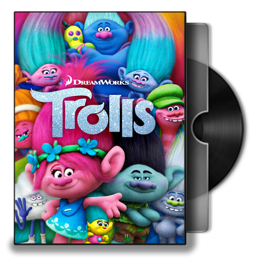 Trolls 2016 Folder Icon By Bodskih On Deviantart