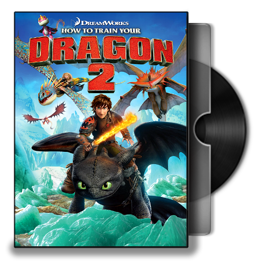 How To Train Your Dragon 2 2014 Folder Icon By Bodskih On Deviantart