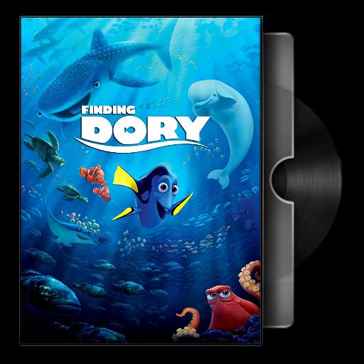Finding Dory 2016 Folder Icon By Bodskih On Deviantart