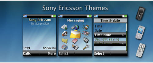 Sony Ericsson Themes by mikil