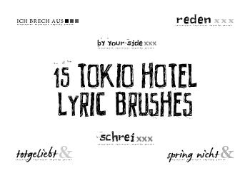 Tokio Hotel Lyrics by daughterofsnape