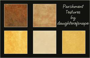 Parchment Textures by daughterofsnape