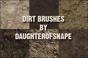 Dirt Brushes by daughterofsnape