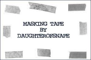 Masking Tape by daughterofsnape