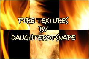 Fire Textures by daughterofsnape