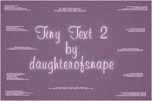 Tiny Text 2