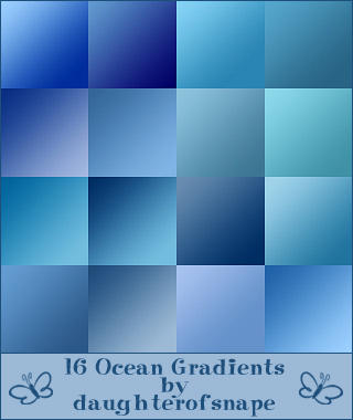 Ocean Gradients by daughterofsnape