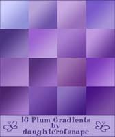 Plum Gradients by daughterofsnape