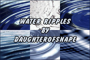 Water Ripples by daughterofsnape