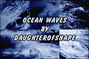 Ocean Waves by daughterofsnape