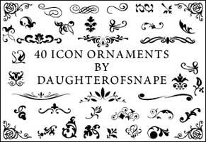 Icon Ornaments