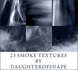 Smoke Textures by daughterofsnape