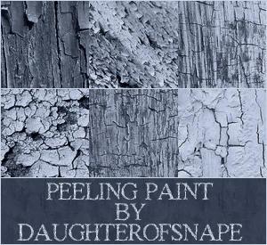 Peeling Paint by daughterofsnape