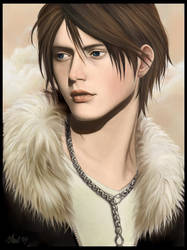 Smiling Squall by MayYeo