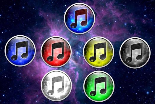 iNebula -7 iTunes Nebula Icons